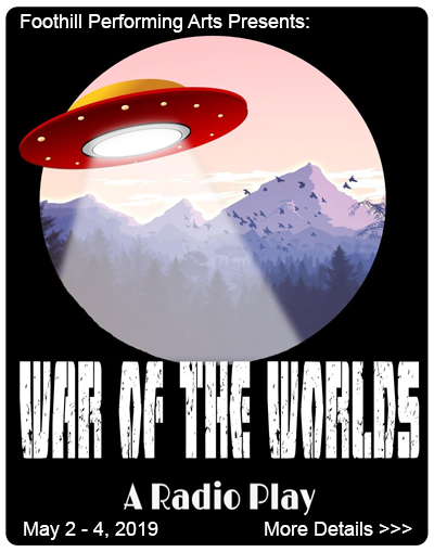 FPA pressents at JE Broyhill Civic Center -War of the Worlds- May 2-4, 2019