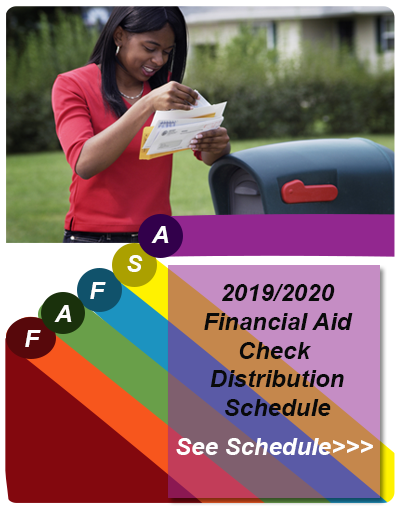 Financial Aid Check Distribution schedule