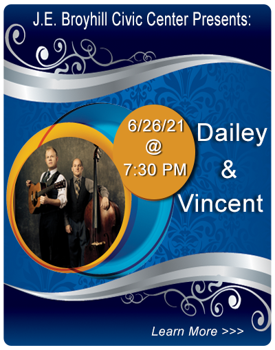 Dailey & Vincent at JEBCC on January 9, 2021
