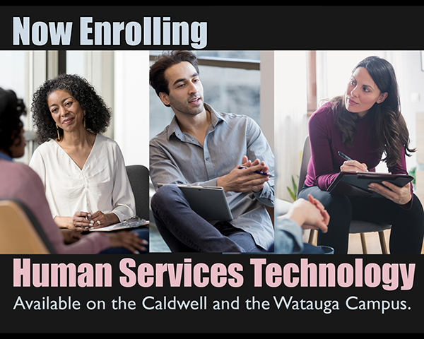 ad for Human Services Technology Program