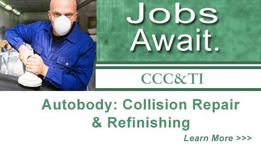 Jobs await - Autobody: collision Repair & refinishing
