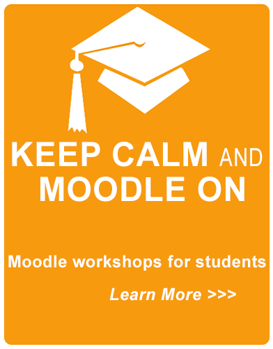 Moodle workshop schedule