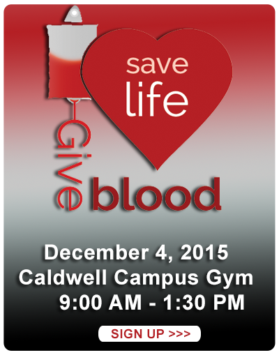 Donate blood - 12/4/2015