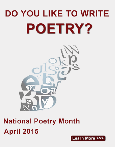 National Poetry Month - April 2015 - Learn more