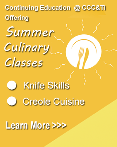 Summer Culinary Classes