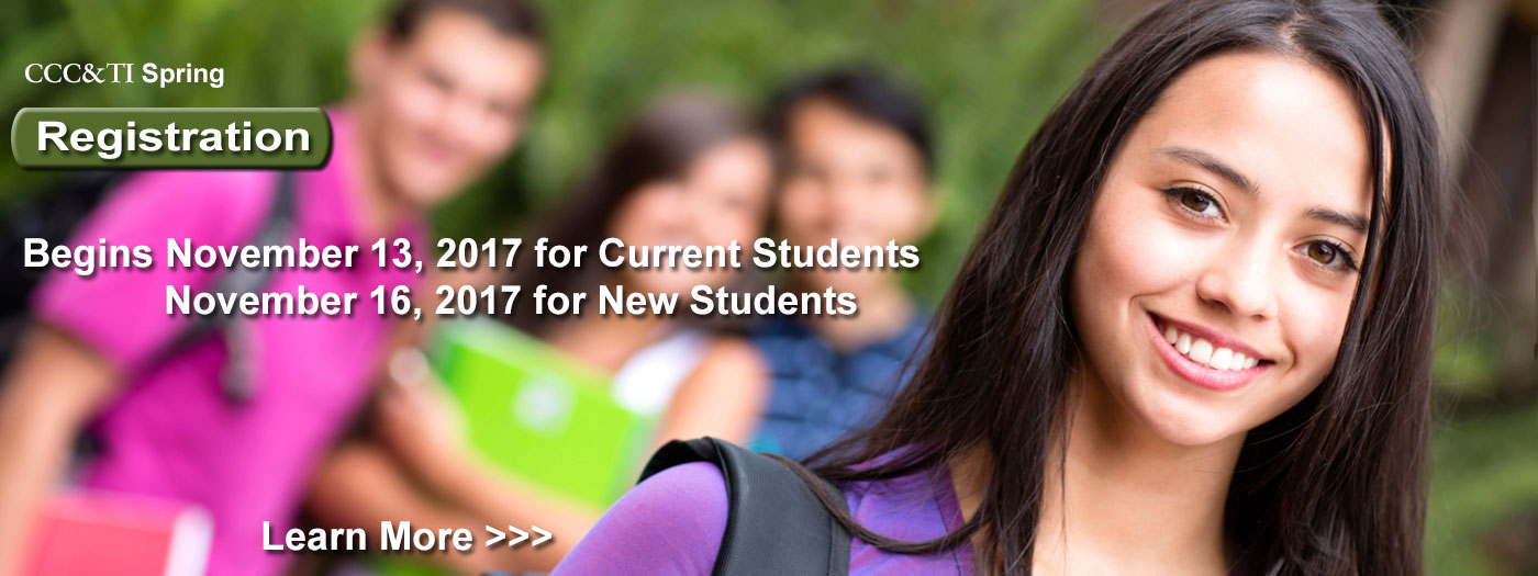 Spring Registration Date - Current students 11/13, new students 11/16