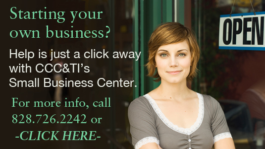 Small Business Center Ad