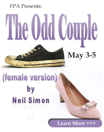 J.E. Broyhill Civic Center presents :FPA presentation of The Odd Couple (female version) May 3 -5